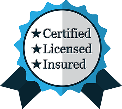Certified Licensed Insured